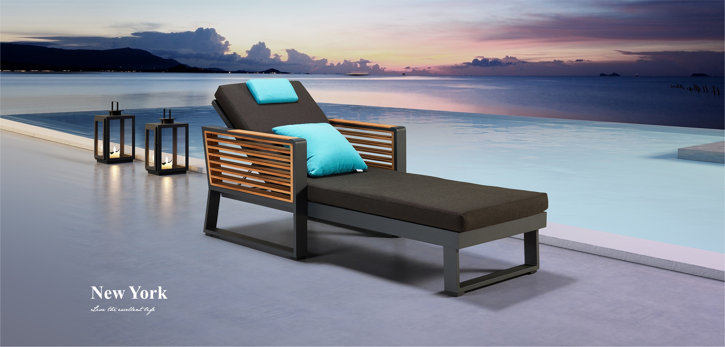 New York Chaise Lounge 204051