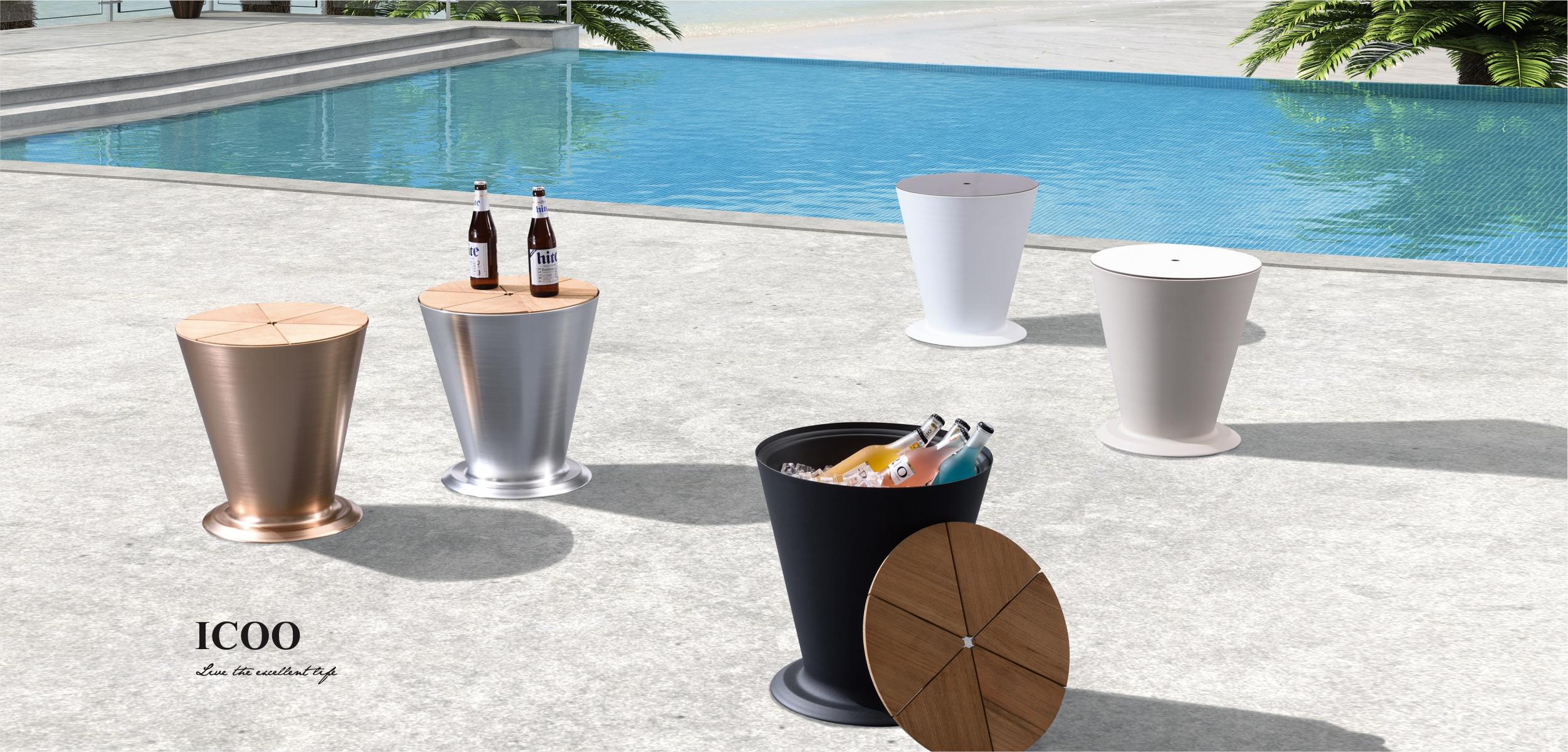 Icoo Ice Bucket, Flower Basket