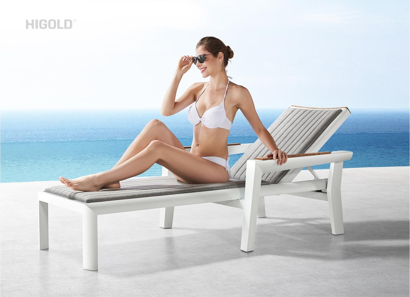 Champion (Onda fabric)  Sun Lounger 204351