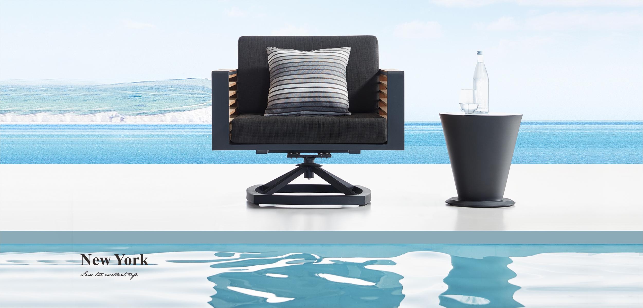 New York Swivel Lounge Chair 204025