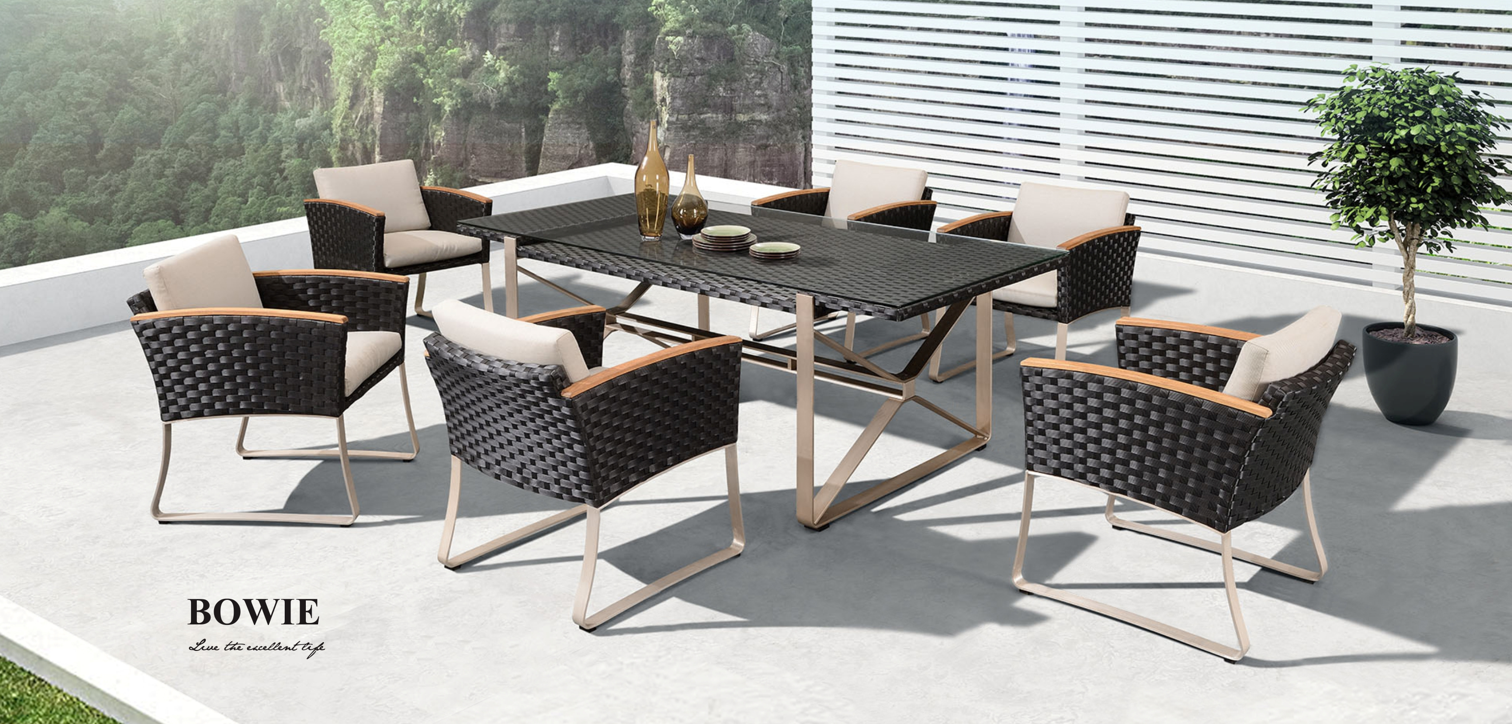 Bowie Dining Set 203960