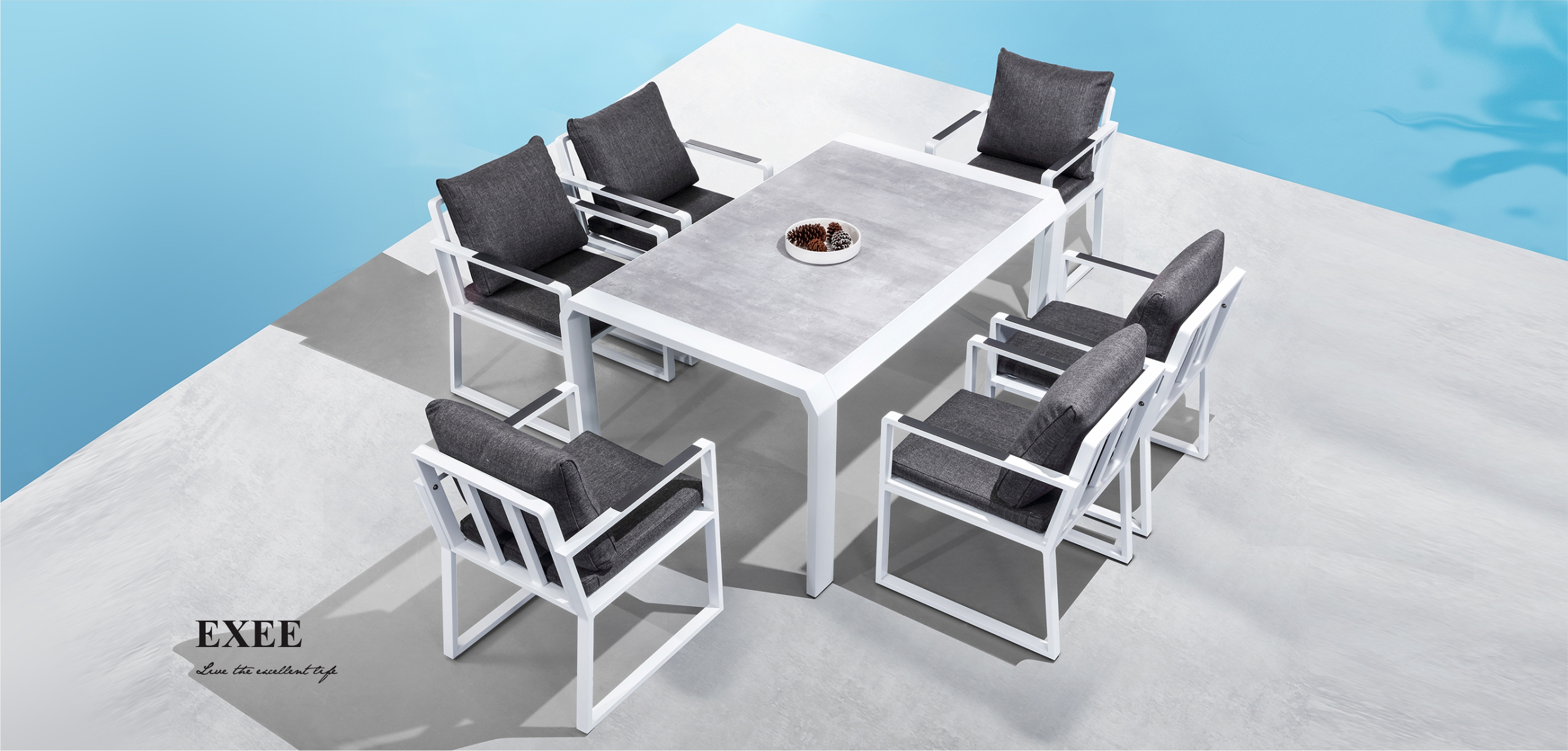 Exee Dining Set 3055150