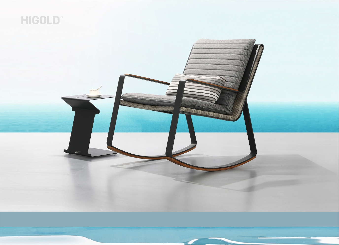 Clark Rocking Lounger Chair 2041780