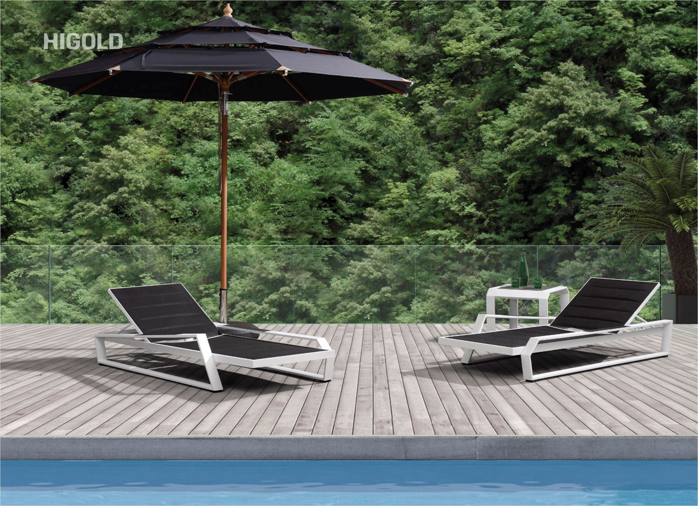 Nomad Chaise Lounger Set 201870