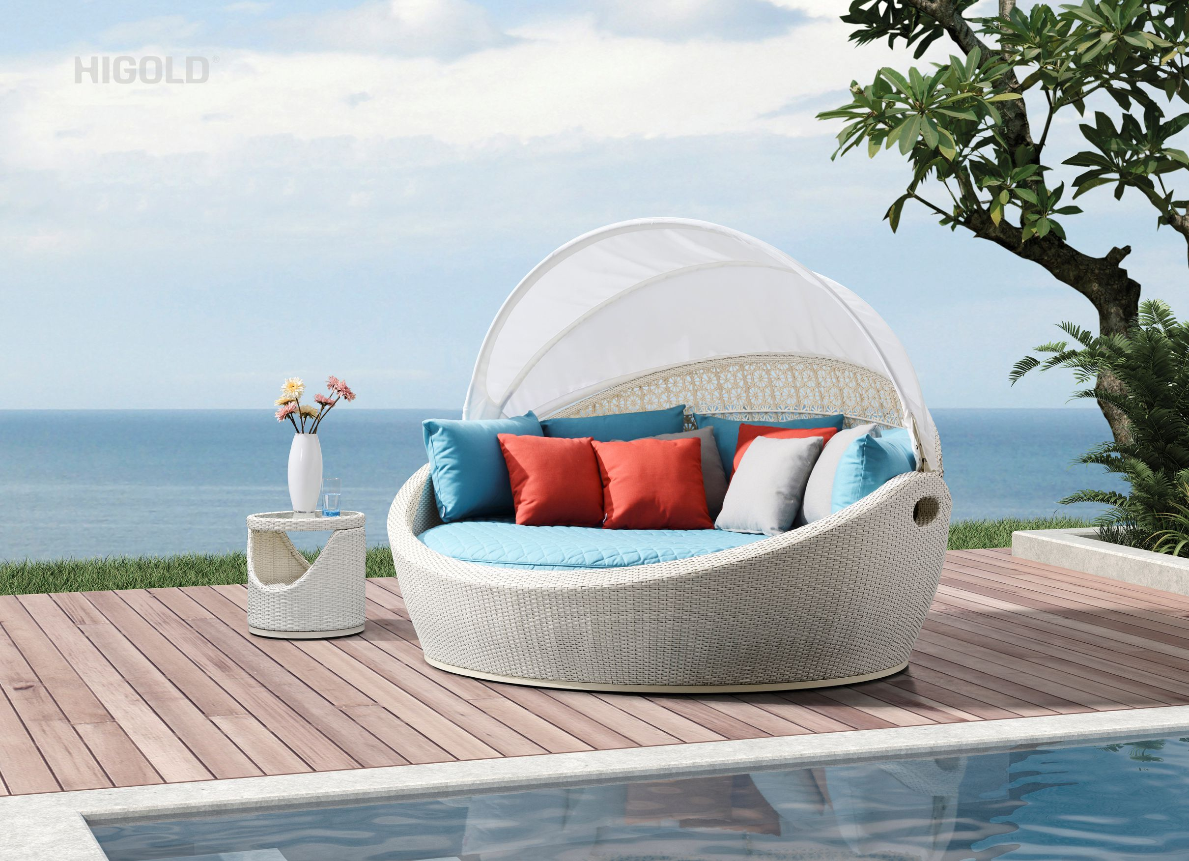 Tulip Chaise Lounge 203090